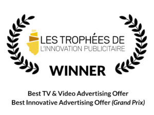 TF1 Group awarded at Les Trophées de l'Innovation Publicitaire for Mirriad's innovative in-video advertising offer