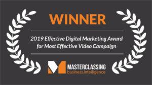 Effective digital marketing award 2019