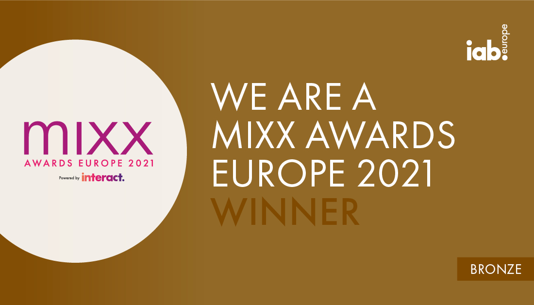 Mirriad and Vakıfbank (Turkey's second largest bank) have taken home bronze prizes at IAB Europe's 2021 MIXX Awards.